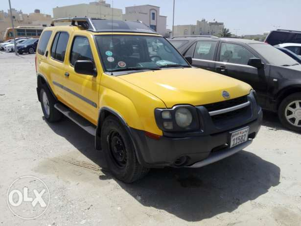 For sale nissan x-terra 2002