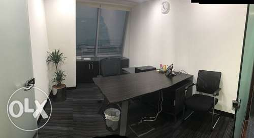 Full fitted exceucitve office at BAHRAIN WORLD TRADE CENTER BD. 380/-