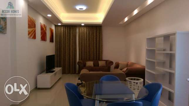 Modern style, fully furnished 2 BHK flat in Hidd at BD 460/Month