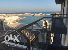 Nice Sea view 1 BHR flat in Amwaj
