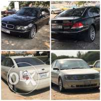 BMW 735il 2003 Ford five hundred 2008 change onlyللبدل فقط
