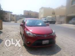 Toyota Yaris 1.5, 2014, automatic, 28000 KM, red, excellent condition