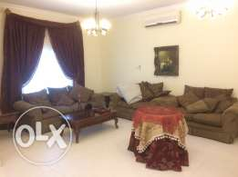 luxury villa for rent in a very nice & safe area in Sanad