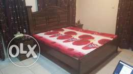Beautiful bed set with two side tables