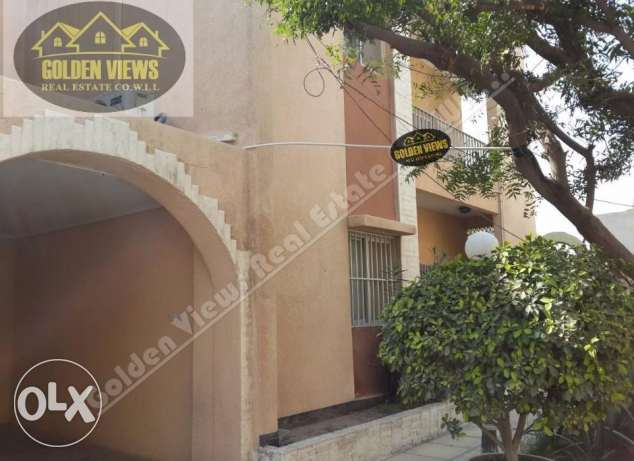 5 Bedroom semi furnished villa for rent in good residential area