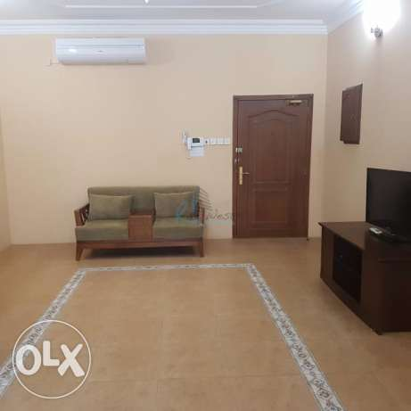 Furnished spacious two bedroom apartments العدلية -  1