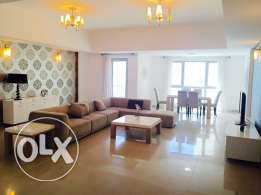 Two bedrooms apartment in Amwaj-Island. Brand new Furniture.