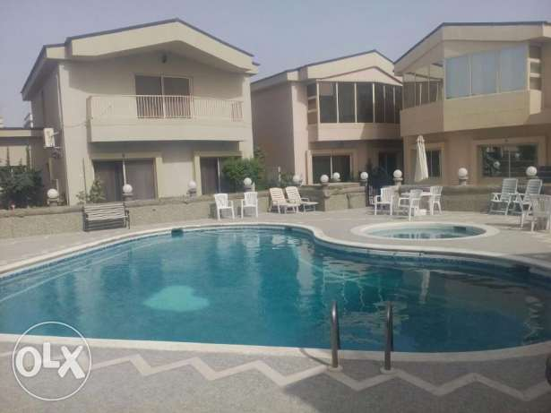 Villa - Semi Furnished - Common Swimming Pool-3bedroom,3 bathroom,hall