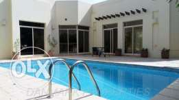 SAAR 3 Bedroom Semi Compound Villa Private Pool for rent INCLUSIVE