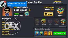 8ballpool id for sale