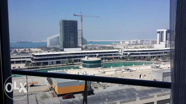 Lagoon view 2 bedrooms flat for rent at Amwaj Island