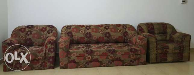 Sofa Set 3+1+1 Very good condition