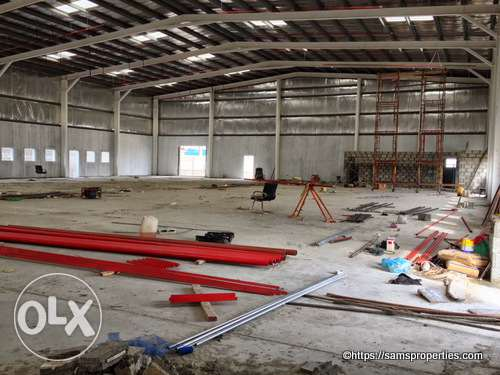 Factories Workshops and warehouse space for rent. 1800 square meter