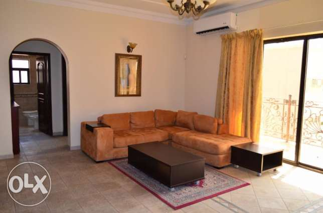 Umm-Al-Hassam spacious 3BHK furnished with balcony/gym/net