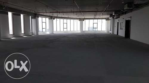 Full Floor 501 Mtr Sqr Open office space avaible at Seef with Sea view