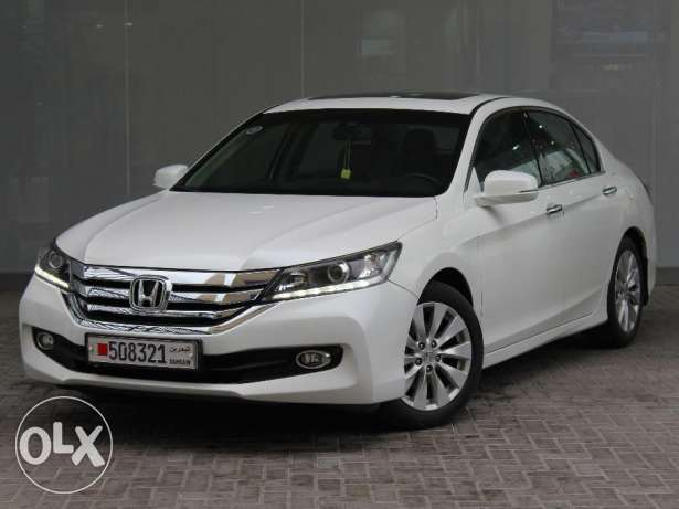 Honda Accord 2015 White For Sale
