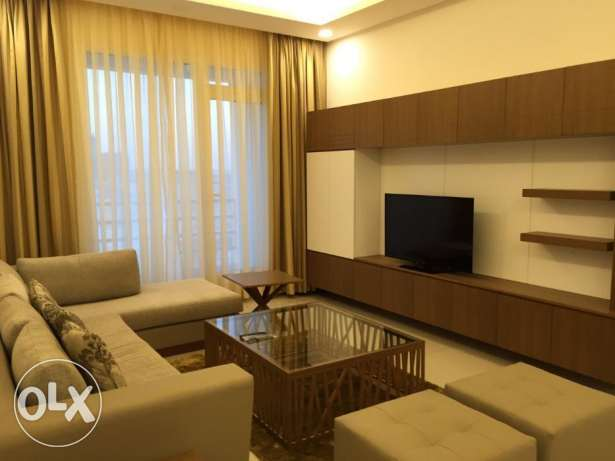 New hidd/ Semi furnished 2 BR flat