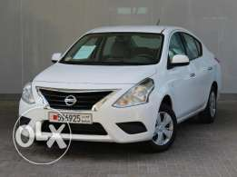 Nissan Sunny 1.5L Low option 2016 White For Sale ()