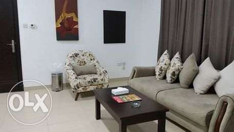 fully furnished apartment in seef السيف -  1
