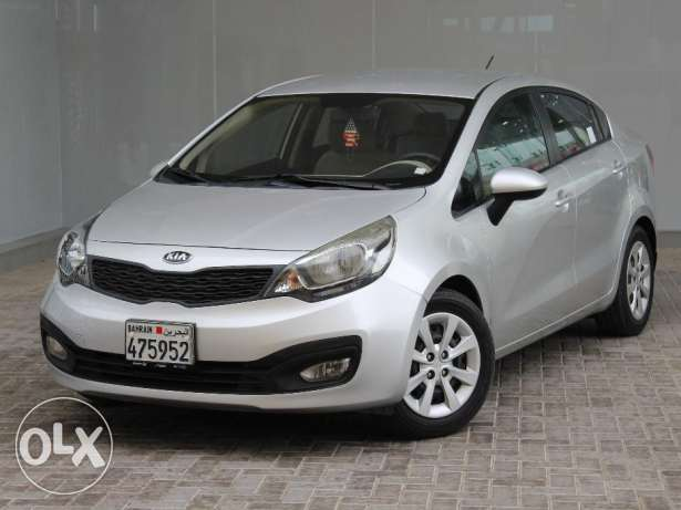 Kia Rio 2014 Silver For Sale