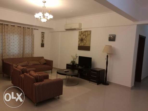 Splendid Fully Furnished 2 Bedroom apartment for rent at Busaiteen