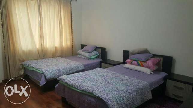 Juffair 2 bed room spacious Bd : 600/-