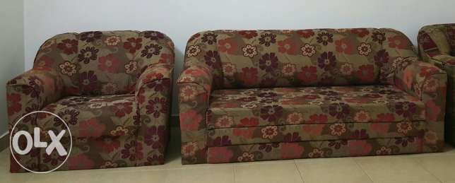 Sofa set 3+1 Excellent Condition
