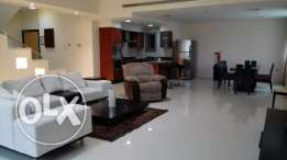 2 Bedroom Fully Furnished Dublex Apartment/ inclusive in Busaiteen