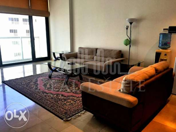 Beautiful two-bedroom duplex apartment with sea view.