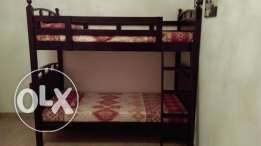 Wooden Bunk Bed or Single/Double Bed With Mattress(AlmostNew)HomeStore