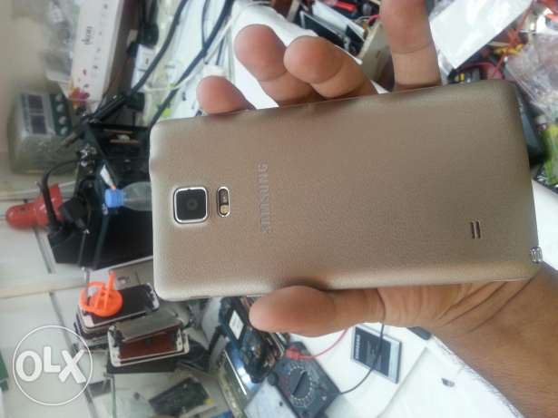 good condition. note 4. gold 32 gb