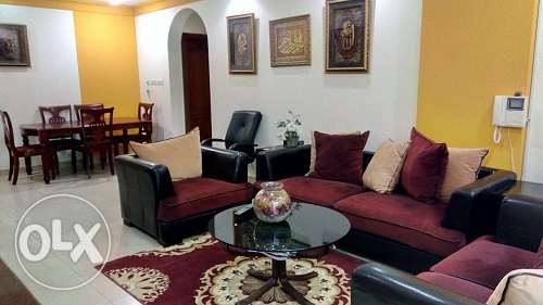 Fully furnished luxurious apartment in Exhibition/Hoora B.D 450/- Incl