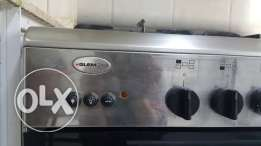 Glemgas 5 burner cooking range with full safety features. o