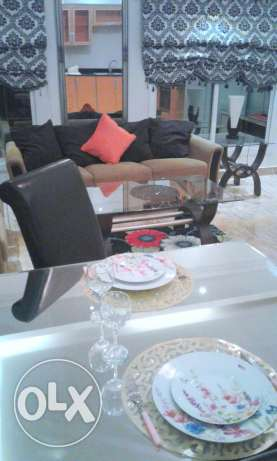 Closed to Saar mall 2 BHK flat with private garden سار -  2