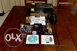Nikon D3200 + 18-55mm Kit lens + Wifi Adapter + extra battery