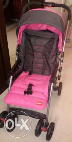 Baby Stroller & High Chair (Good Condition)