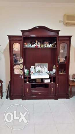 TV Unit / Displaycase - Good condition for immediate sale / best offer