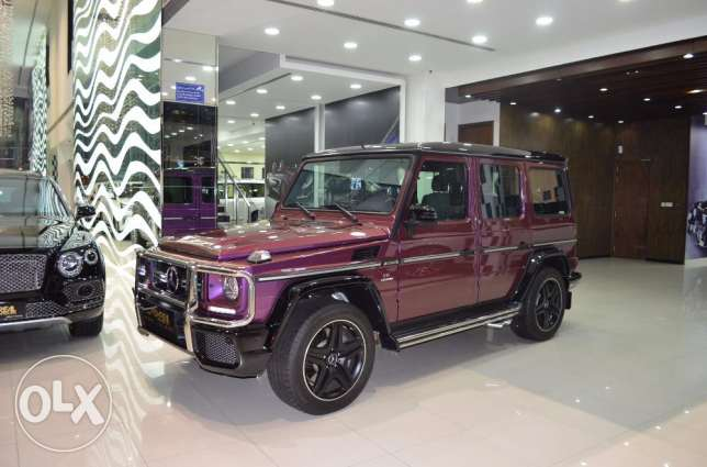 MERCEDES G 63 - Crazy color