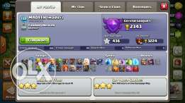 Clash of clan account th 9 for sale