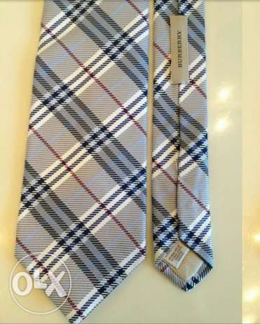 brand new authentic burberry london necktie for sale   only