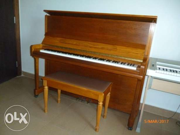 Piano Samick Imperial JS 121 M with Chair