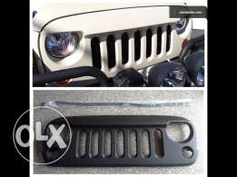 Jeep wrangler mean grill