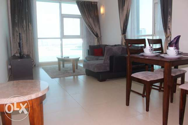 Gorgeous Brand new 1 BR in Seef, Sea view