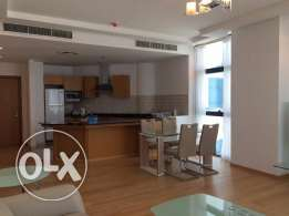 2 bedroom fully furnished flat on big tower in sanabis