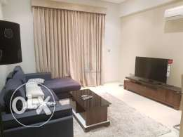 Furnished two-bedroom apartment for rent at Adliya