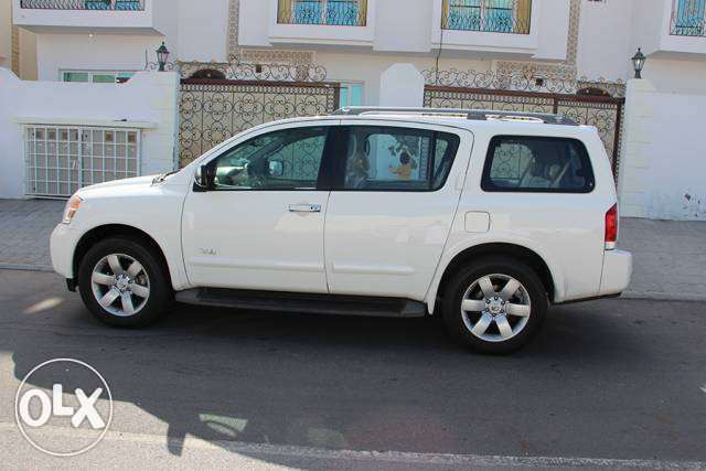 nissan armada 2008 model insurance passing may 2018 full option LE