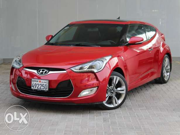 Hyundai Veloster 2015 Red For Sale