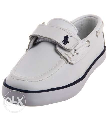 polo white shoes kid size 29