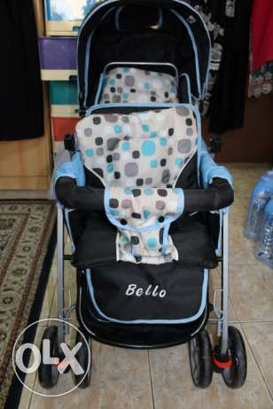 Double Seated Baby Stroller For 30 BD