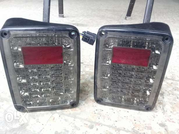 Rear jeep light